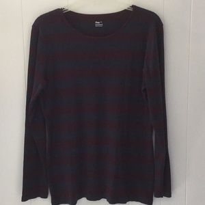 5 for $30 GAP Supersoft long sleeved Striped Tee